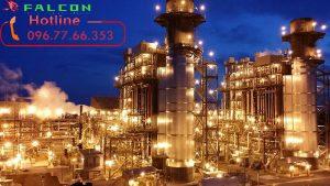 đèn led nhà máy lọc dầu