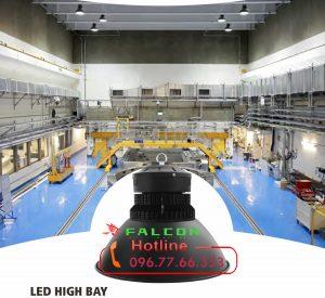 giải pháp chiếu sáng kho xưởng